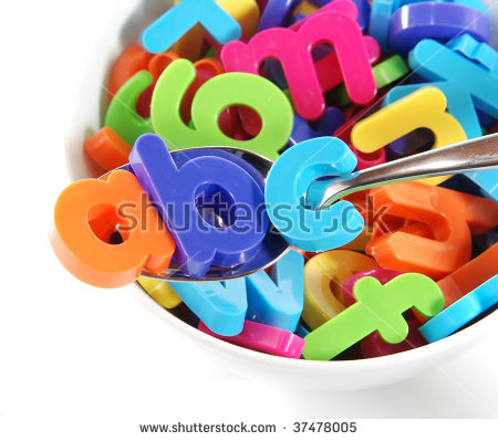 Alphabet Soup Stock Photos, Royalty-Free Images & Vectors ... banner library library