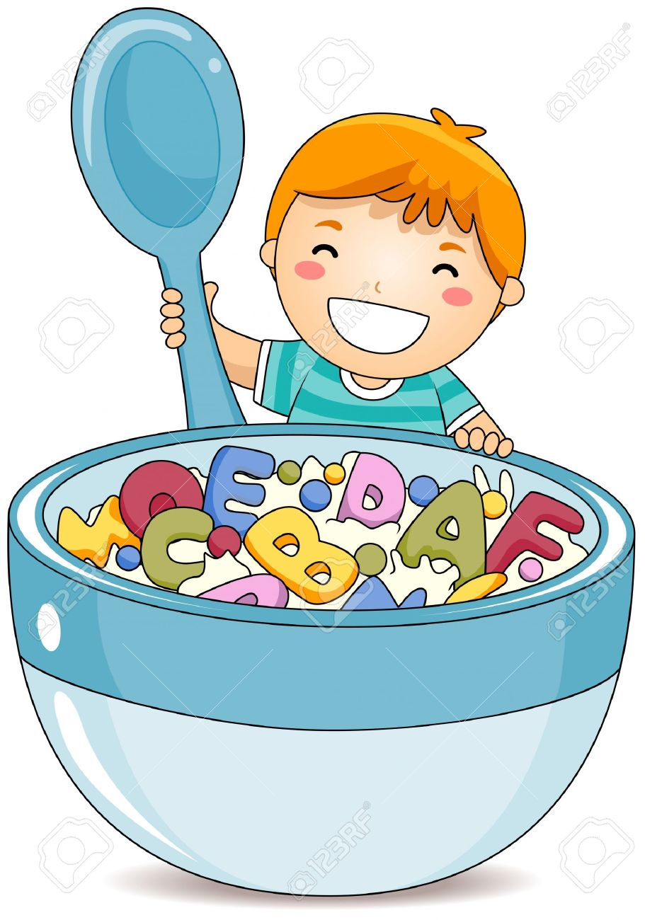 Clipart boy eating - ClipartFest graphic freeuse stock