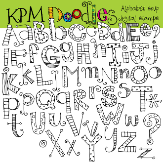 Alphabet soup clip art jpg free download Alphabet Soup Digital Clip Art Stamps jpg free download