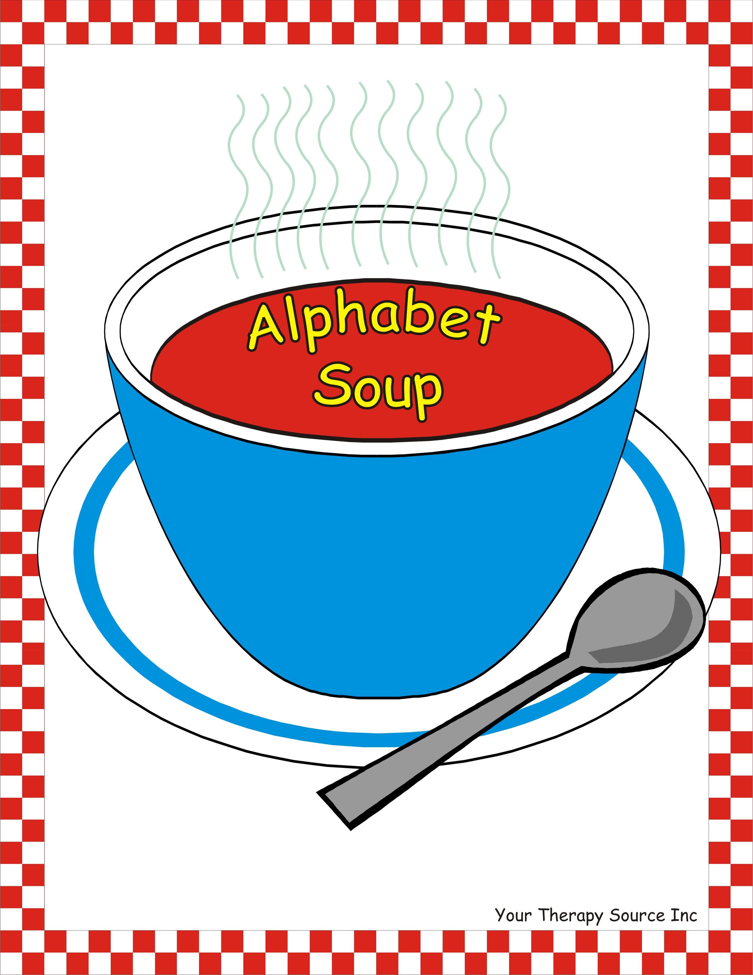 Alphabet soup clip art clipart transparent library Alphabet soup clip art - ClipartFest clipart transparent library