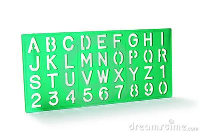 Clipartfest letter stencils clipart. Alphabet stencil clip art