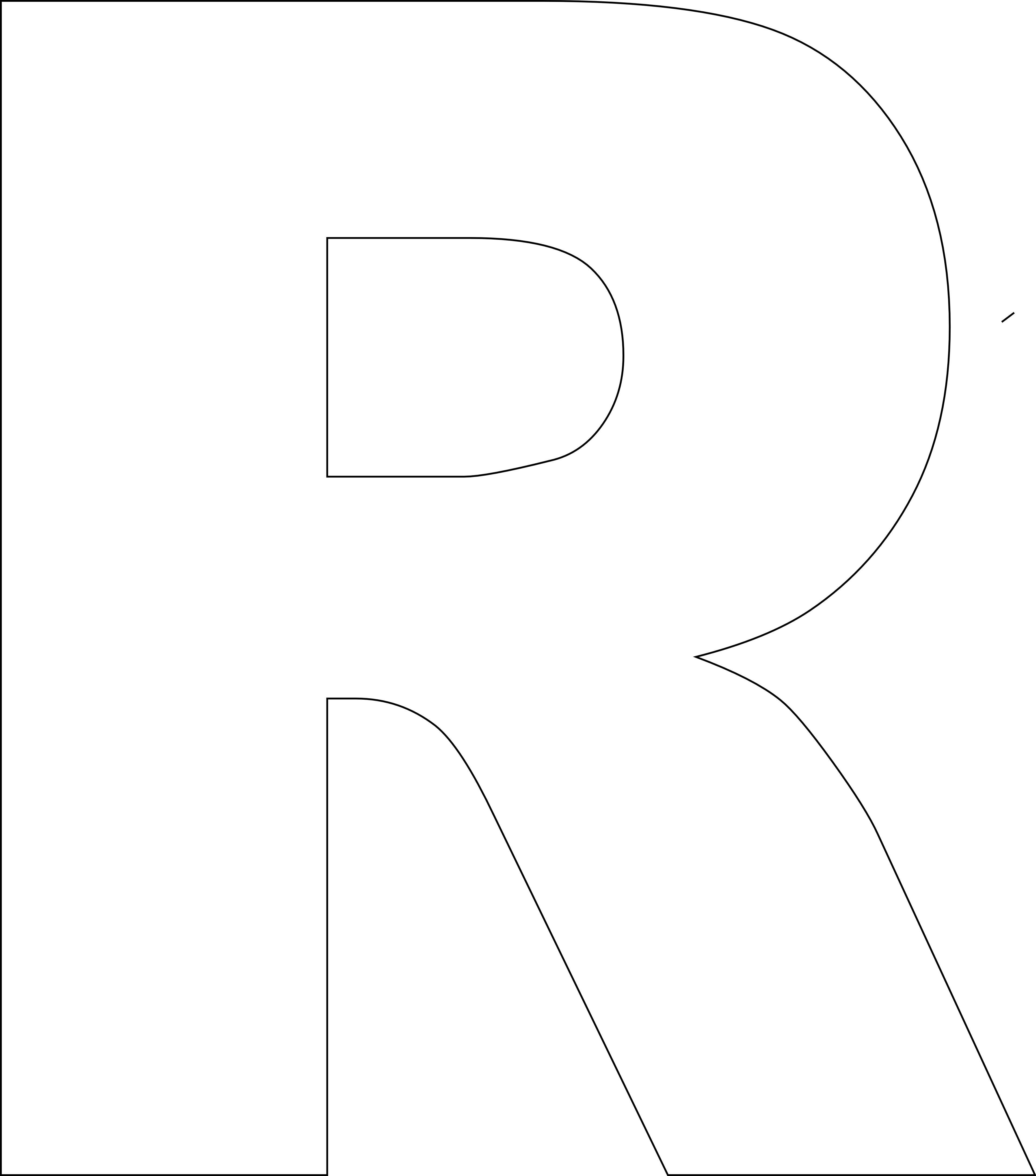 Alphabet stencil clip art clip art Printable FREE Alphabet Templates | Printable letters, Printables ... clip art