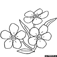 Alpine forget me not clipart outline black and white svg black and white stock 25 Best Forget me nots images in 2016 | Embroidery patterns, Flower ... svg black and white stock
