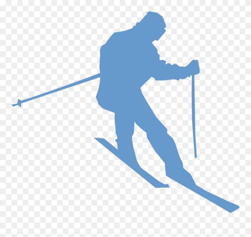 Alpine skier clipart banner freeuse library Alpine Skiing Sport Ski Boots Ski Poles - Ski Png Clipart (#211728 ... banner freeuse library