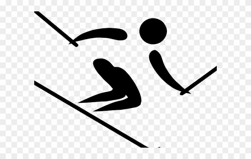 Alpine skier clipart picture library download Ski Clipart Downhill Ski - Alpine Skiing - Png Download (#330211 ... picture library download