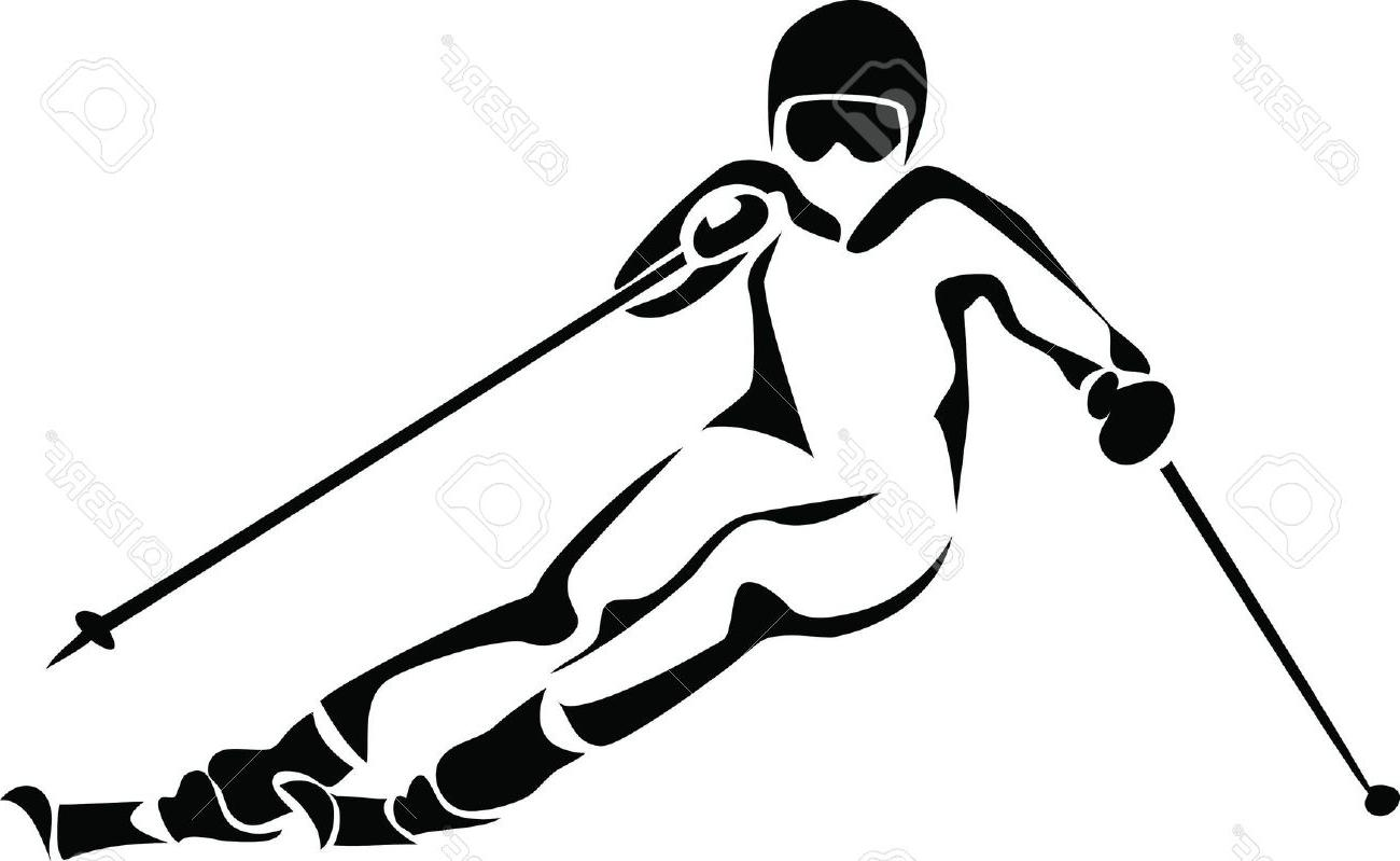 Alpine skier clipart picture library library Alpine Skiing Cliparts   Free download best Alpine Skiing Cliparts ... picture library library
