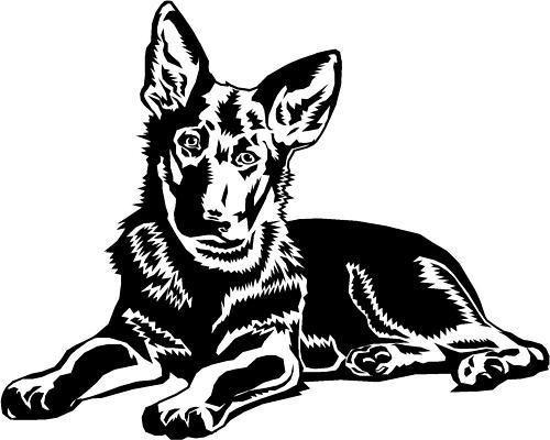 Alsace clipart people gray image freeuse library German Shepherd/Alsatian Puppy Dog Car,Van Sticker #3 | jeep | Dog ... image freeuse library