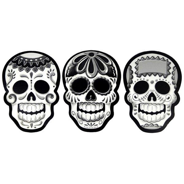 Altar with skull clipart free stock Cardboard Sugar Skulls free stock