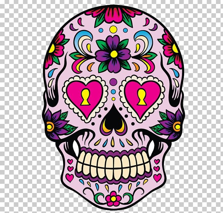 Altar with skull clipart image royalty free download Calavera Skull Day Of The Dead Decal Mexican Cuisine PNG, Clipart ... image royalty free download