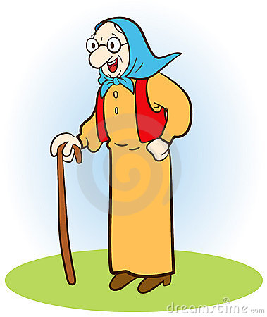Alte frau clipart clipart transparent library Cartoon Grandmother Magician Stock Images - Image: 11195854 clipart transparent library