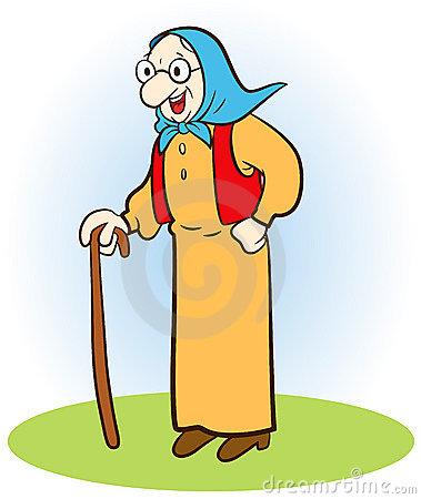 Cartoon Grandmother Magician Stock Images - Image: 11195854 clipart transparent library