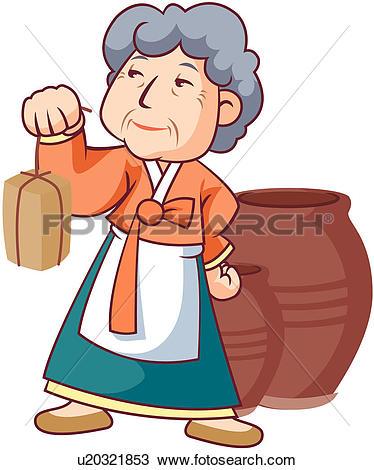 Older Adults - stock illustration clip art. Buy royalty free ... transparent