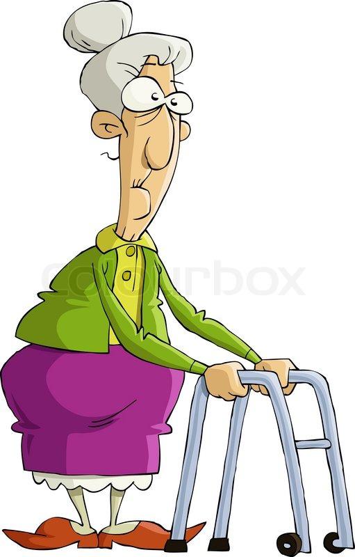 Old woman | Stock Vector | Colourbox jpg transparent