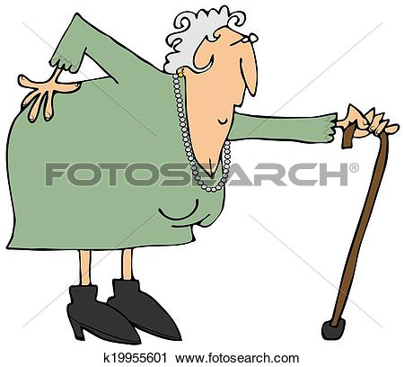 Alte frau clipart jpg library Old lady Clip Art and Stock Illustrations. 1,777 old lady EPS ... jpg library