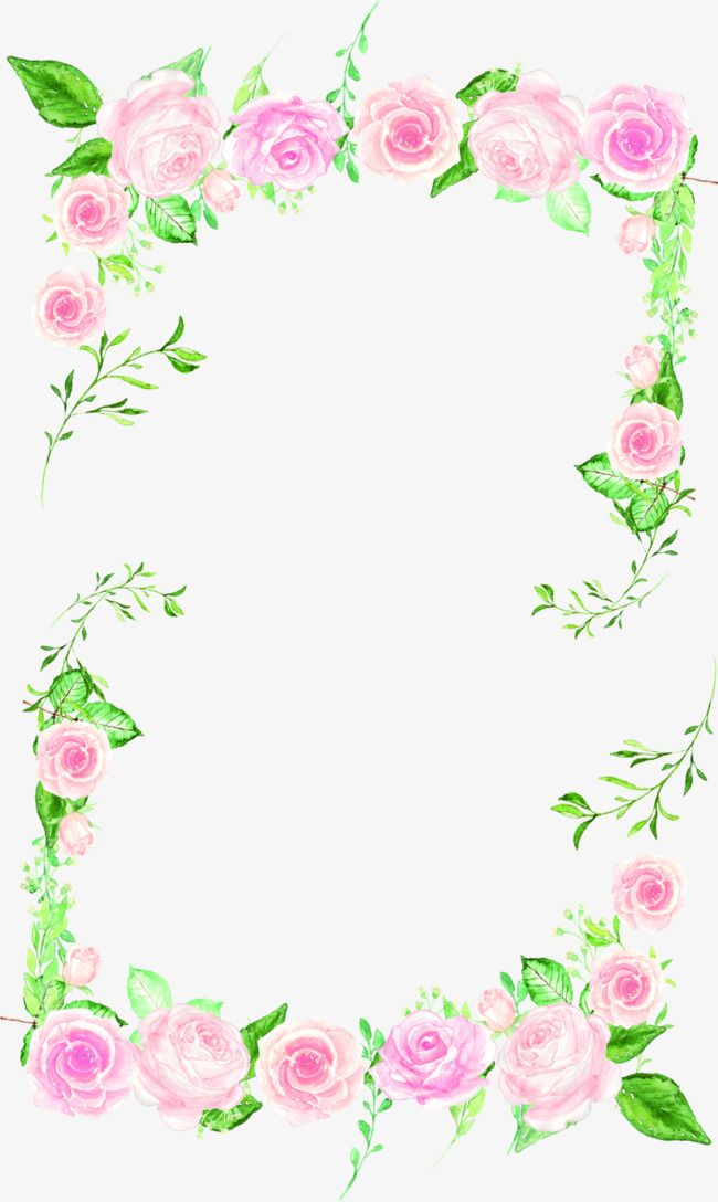 Alter flowers banner clipart jpg royalty free download Beautiful Flowers Borders, Frame, Flowers, Flowers Border PNG ... jpg royalty free download