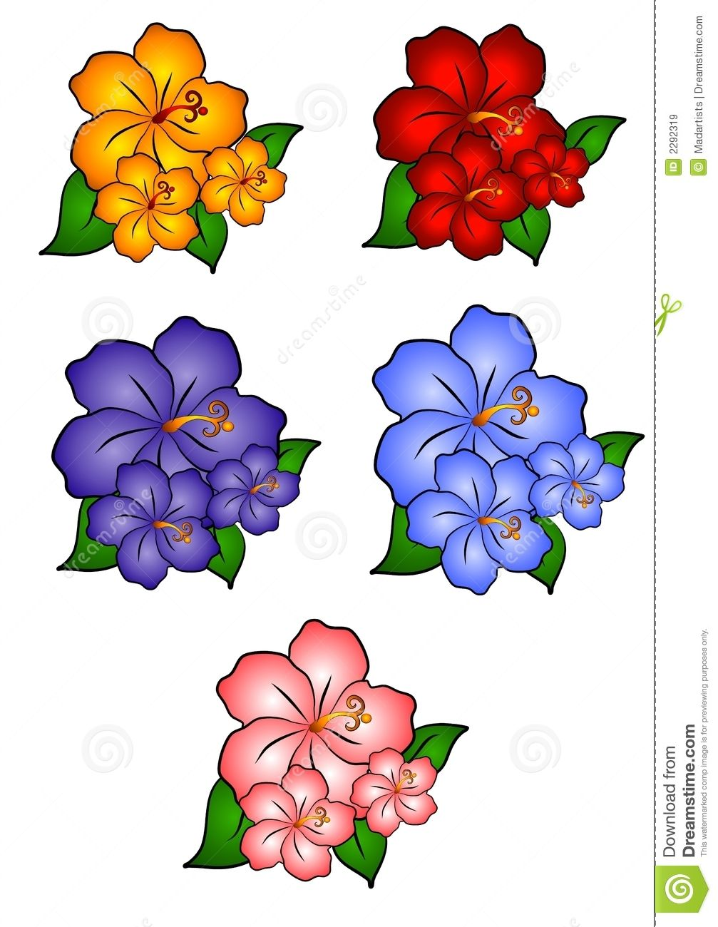 Hawaii flower border clipart black and white svg download flower clip art free | hawaiian-flower-border-clip-art-5-hawaiian ... svg download