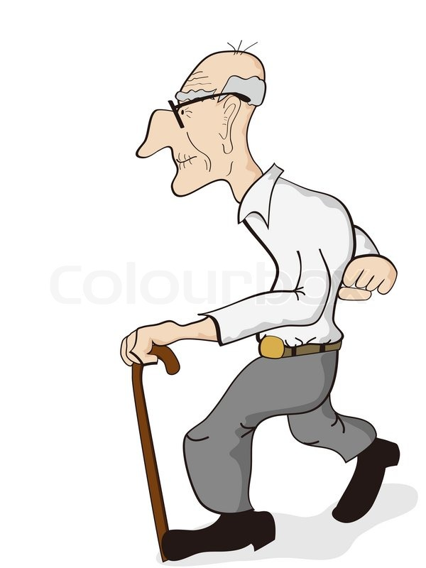 Alter opa clipart clip freeuse stock Old man | Stock Vector | Colourbox clip freeuse stock