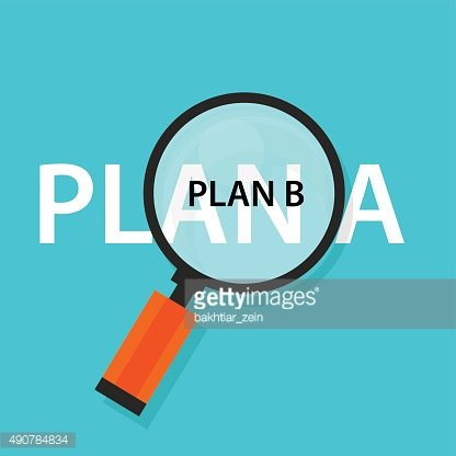 Alternative plan clipart image free Plan A B Emergency Strategy Concept Alternative premium clipart ... image free