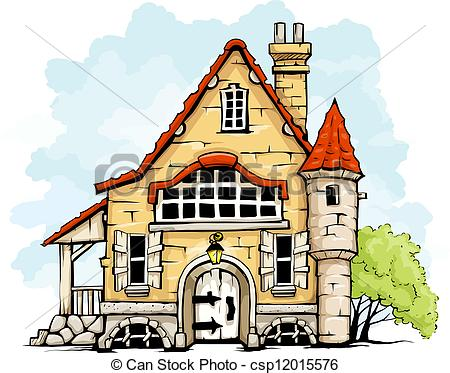 Old house clip art. Altes haus clipart