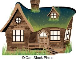 Altes haus clipart. Dollhouse illustrations and clip
