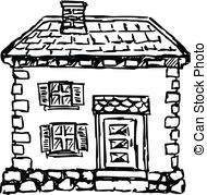 Dollhouse illustrations and clip. Altes haus clipart