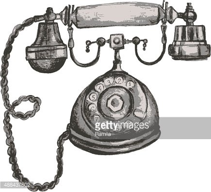 Altes telefon clipart clip black and white Altes Telefon premium clipart - ClipartLogo.com clip black and white