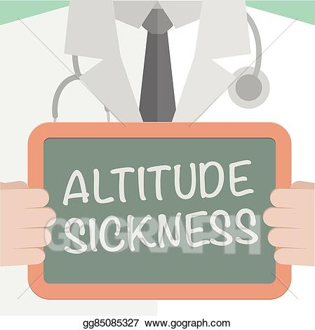 Altitude sickness clipart banner black and white download Vector Illustration - Board altitude sickness. Stock Clip Art ... banner black and white download