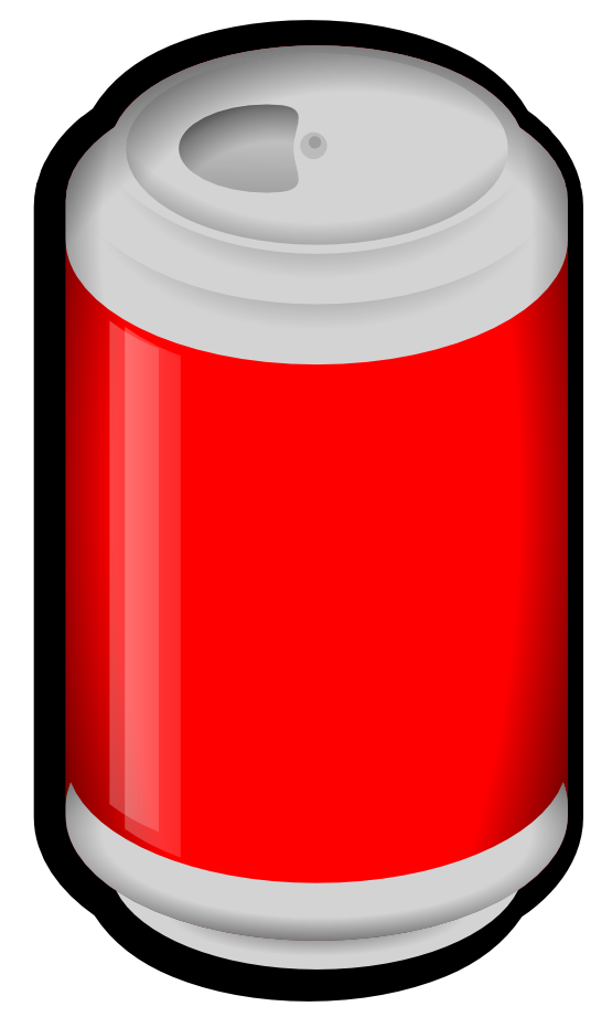 Soda Cans Clipart | Free download best Soda Cans Clipart on ... banner black and white download