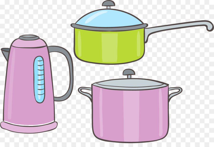 Aluminum cookware clipart graphic stock Kettle Lid png download - 1831*1228 - Free Transparent Kettle png ... graphic stock