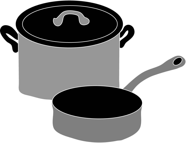 Aluminum cookware clipart image transparent library Pots and Pans Clip Art | Cookware , pots and pans | Cookware, Tasty ... image transparent library