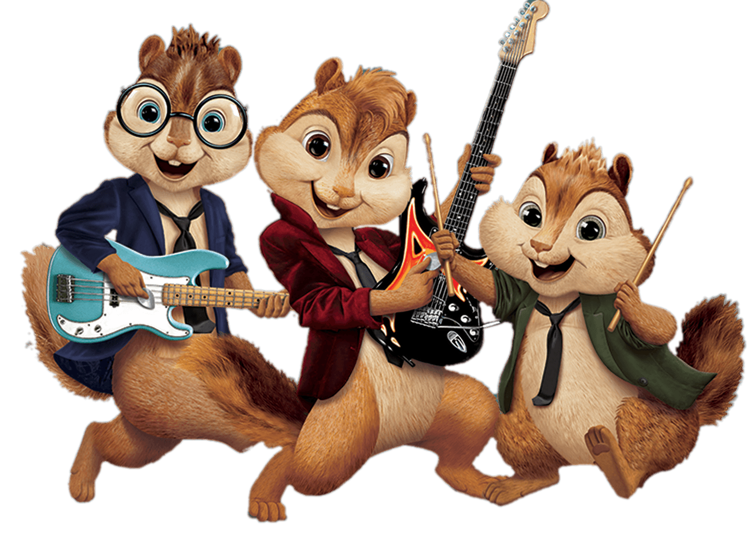 Alvin and the chipmunks football clipart svg Alvin and the Chipmunks Playing Music transparent PNG - StickPNG svg