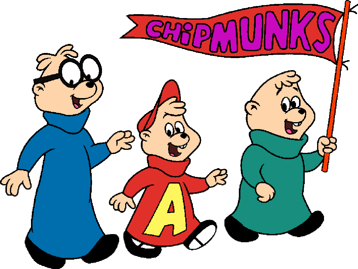 Alvin and the chipmunks football clipart graphic library library Alvin and the Chipmunks (Colored) by ChipmunkCartoon on DeviantArt graphic library library