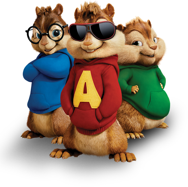Alvin and the chipmunks football clipart