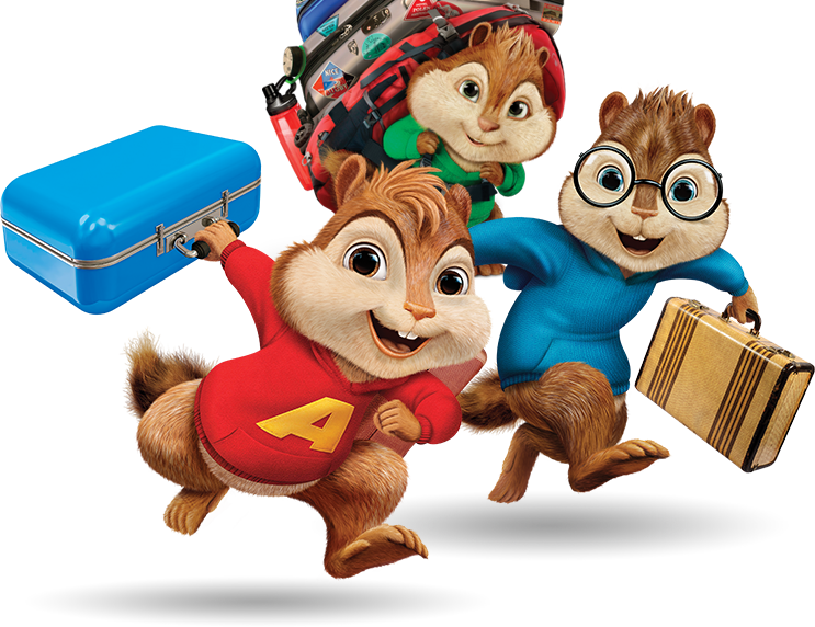 Alvin and the chipmunks football clipart clip black and white library Alvin and the Chipmunks Roadchip with Apollo clip black and white library