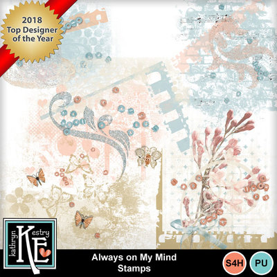Always on my mind clipart vector transparent Clip Art   Always on My Mind Stamps-(Kathryn)   Decorative, Everyday ... vector transparent