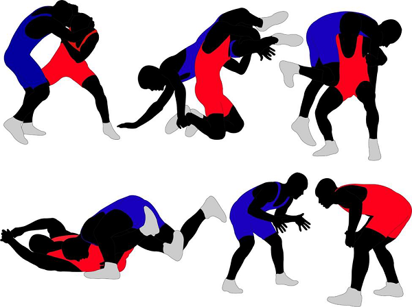 Guy on ground after wrestling match clipart svg free stock Wrestling - Quick Guide - Tutorialspoint svg free stock