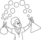Amazed children black and white clipart graphic free Free Science Cliparts Black, Download Free Clip Art, Free Clip Art ... graphic free