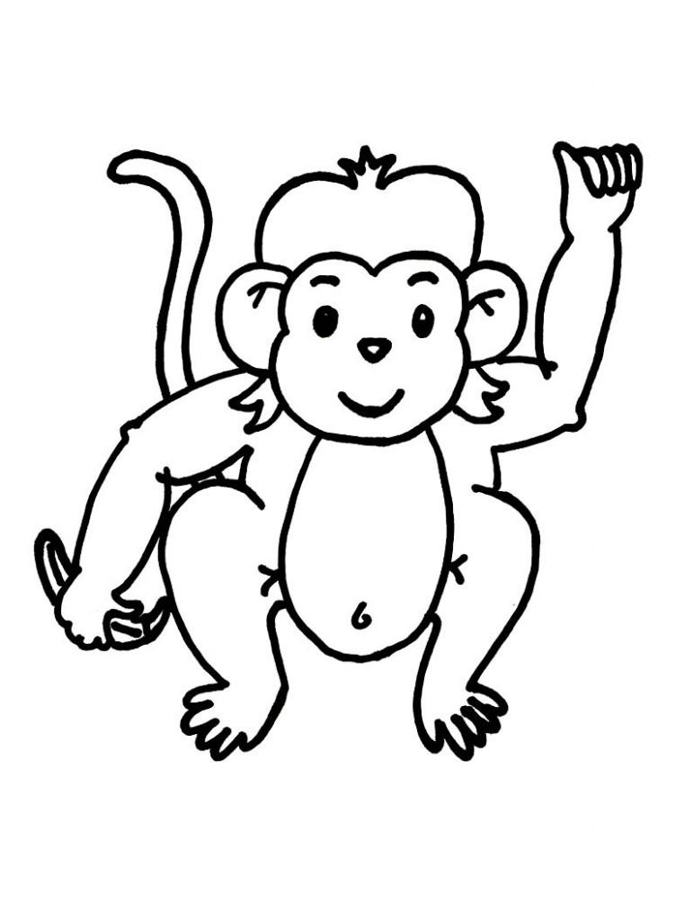Amazed children black and white clipart clipart black and white Monkey black and white monkey clip art black and white free clipart ... clipart black and white