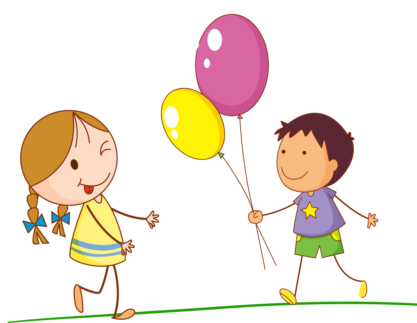 Amazing children clipart