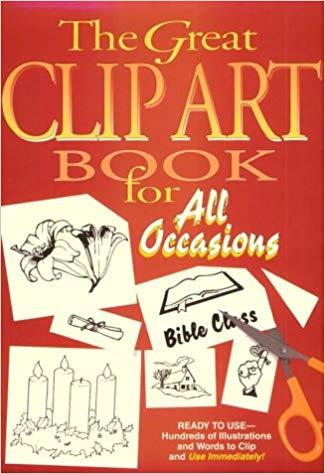 Amazon clipart books svg free Great Clip Art Book for All Occasions: Abingdon Press: 9780687157150 ... svg free