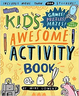 Amazon clipart books clipart royalty free stock The Kid\'s Awesome Activity Book: Games! Puzzles! Mazes! And More ... clipart royalty free stock