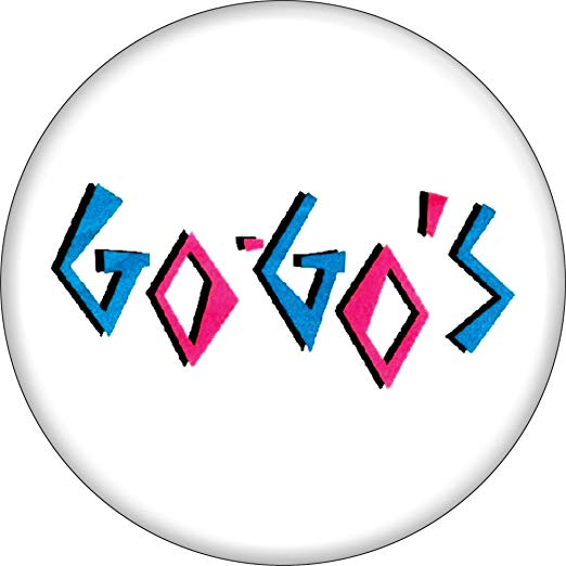 Amazon go logo clipart png transparent stock Amazon.com: The Go-Go\'s - Logo (Blue and Pink) - 1-1/2\