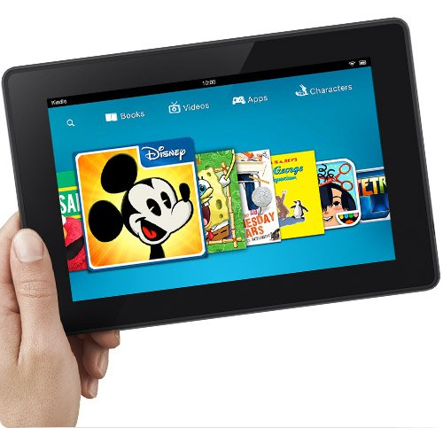 Amazon kindle fire hd 7 clipart