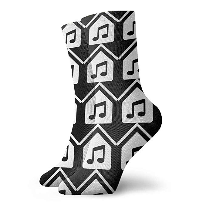 Amazon prime music clipart image black and white library Soulful House Music Clipart Socks, Dress Socks Funny Socks Crazy ... image black and white library