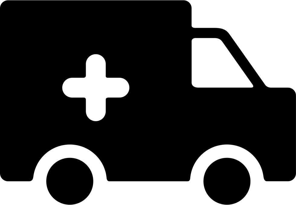 Ambulance car clipart image black and white library Ambulance Silhouette at GetDrawings.com   Free for personal use ... image black and white library