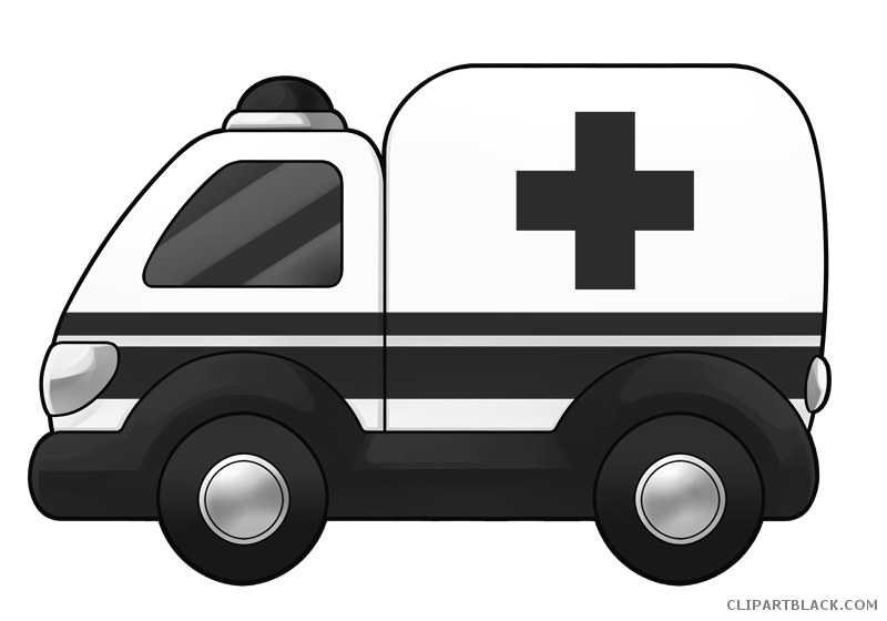 Ambulance car clipart banner black and white download Ambulance Car Clipart - ClipartBlack.com banner black and white download