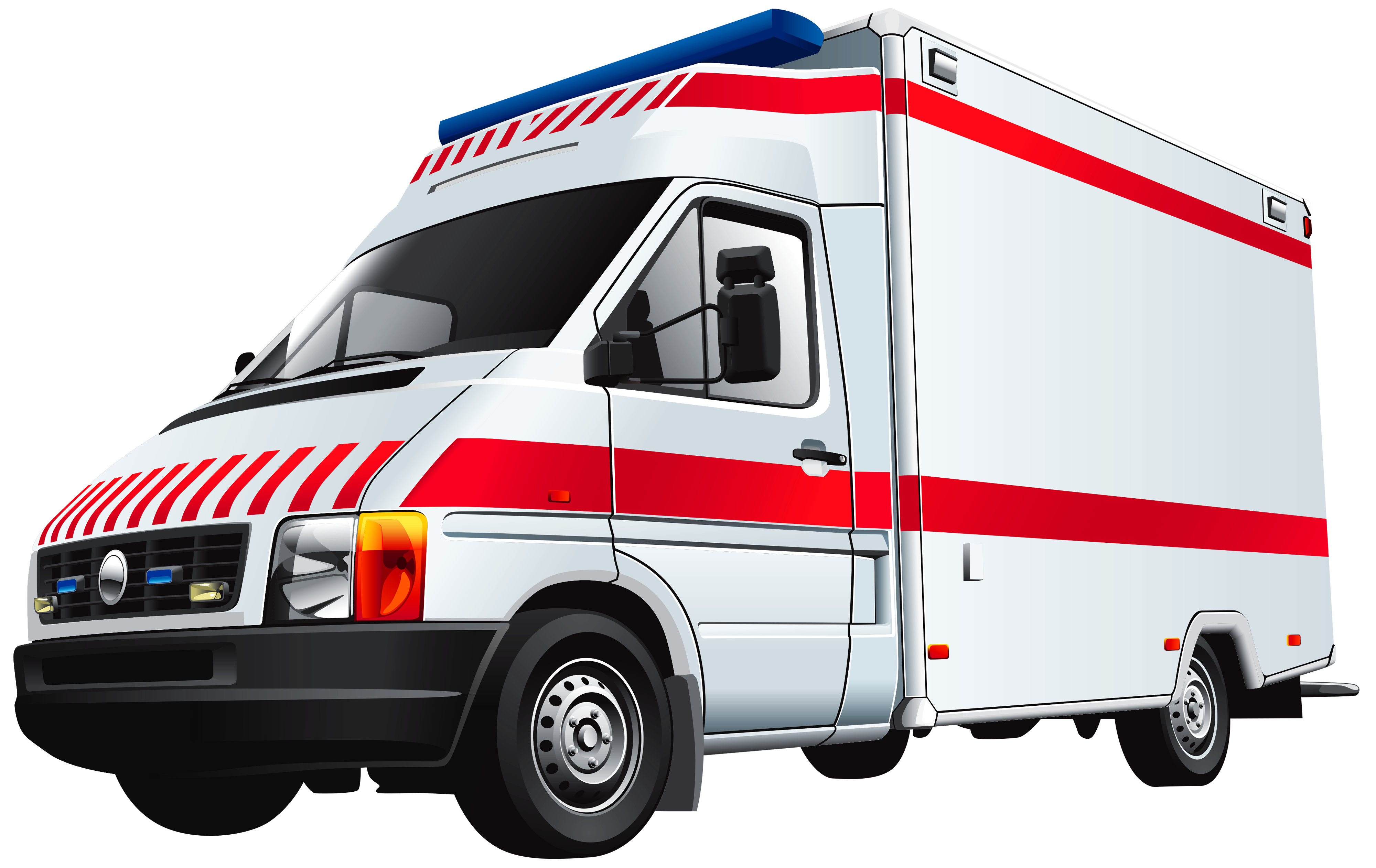 Top view of a car clipart royalty free svg freeuse library Ambulance PNG Clip Art - Best WEB Clipart svg freeuse library