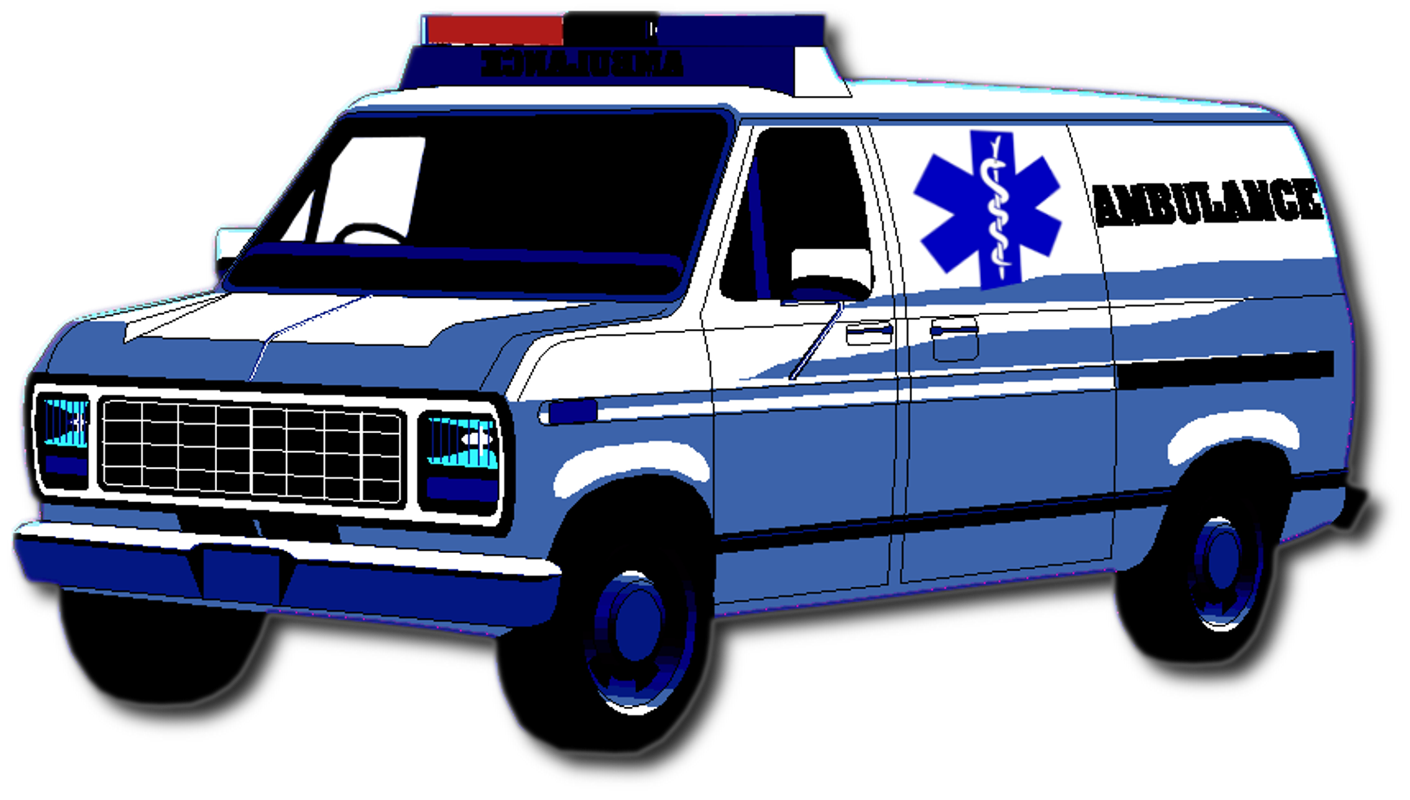 Ambulance car clipart svg download X Ambulance | Free Images at Clker.com - vector clip art online ... svg download