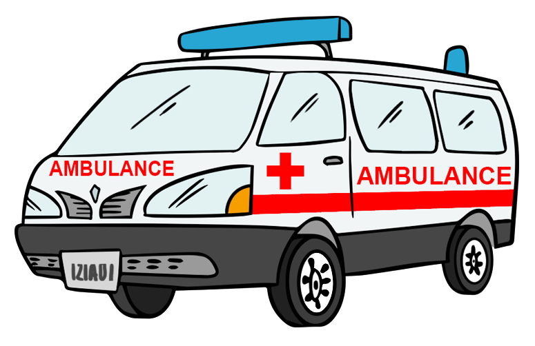Ambulance car clipart vector library library 28+ Collection of British Ambulance Clipart | High quality, free ... vector library library