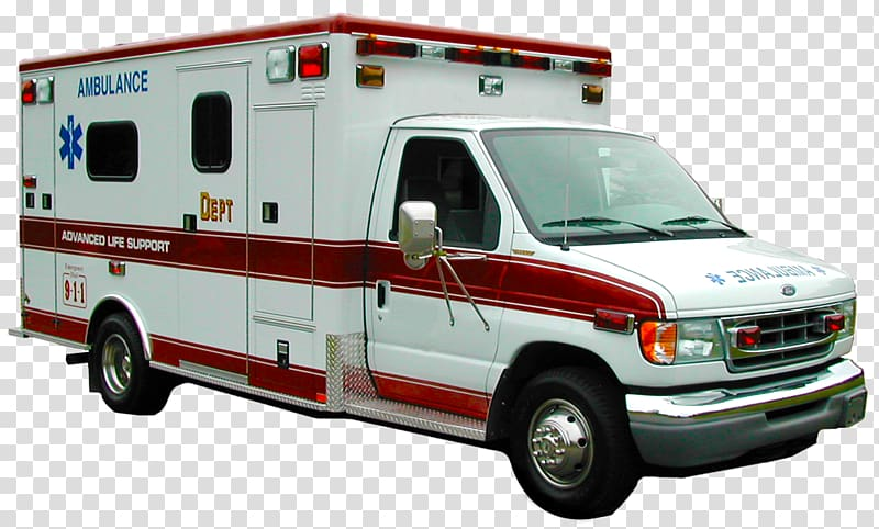 Ambulance clipart background image library download White and red Ford ambulance van, Ambulance Car, Ambulance Van ... image library download
